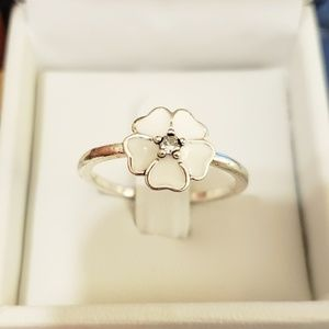 Jewelry - Sterling Silver, Japanese Cherry Blossom Ring